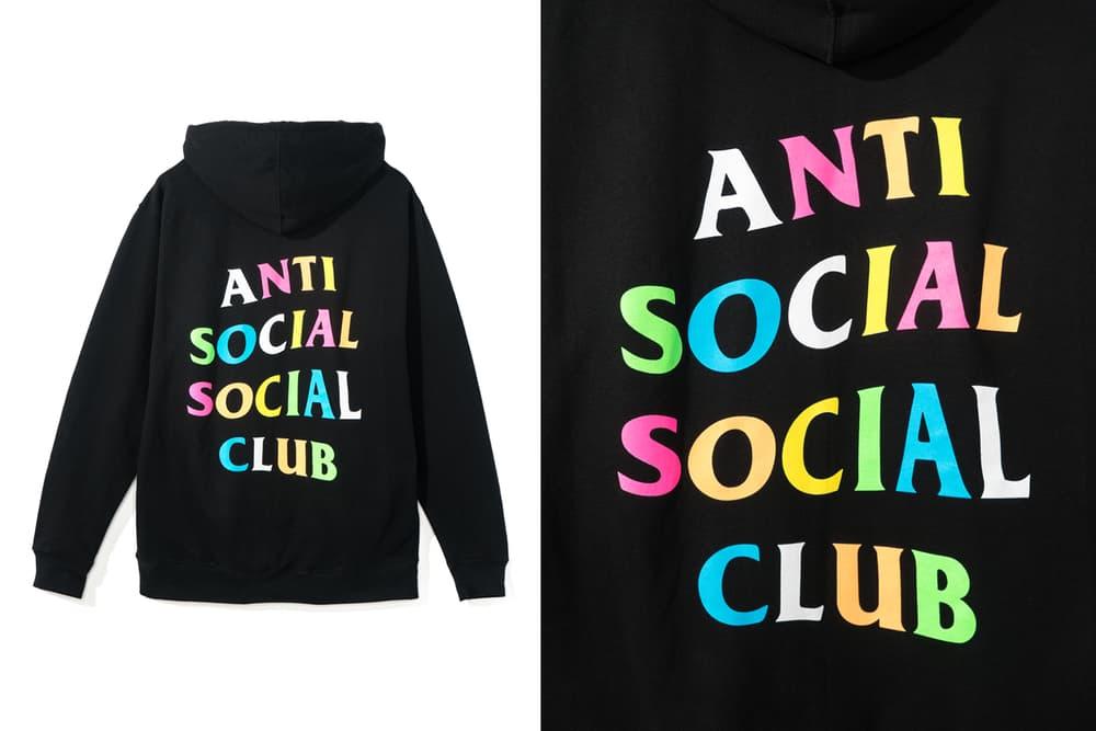 Anti Social Social Club Frenzy Black Hoodie