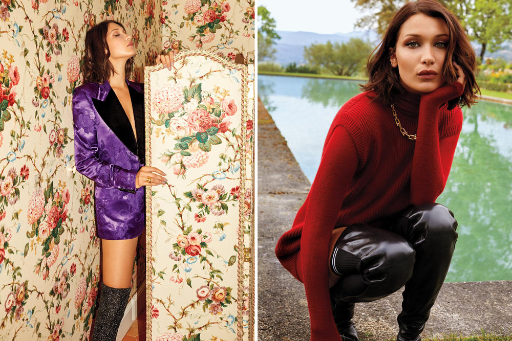 Bella Hadid InStyle Magazine 2017 August Cover Editorial
