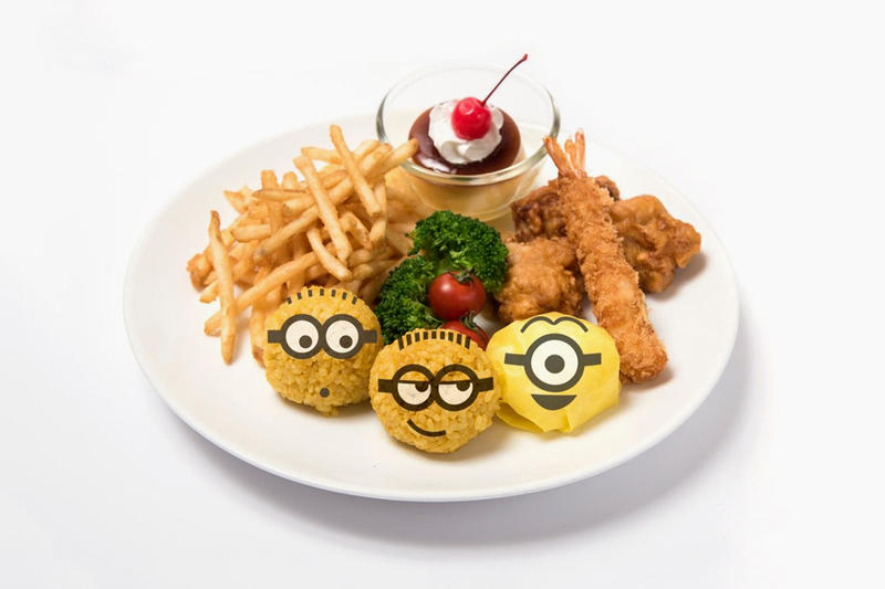 Minions Cafe Tokyo Osaka Japan Despicable Me 3 Restaurant