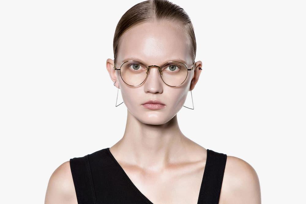 84e6e033578 gentle monster silver frame glasses stainless steel