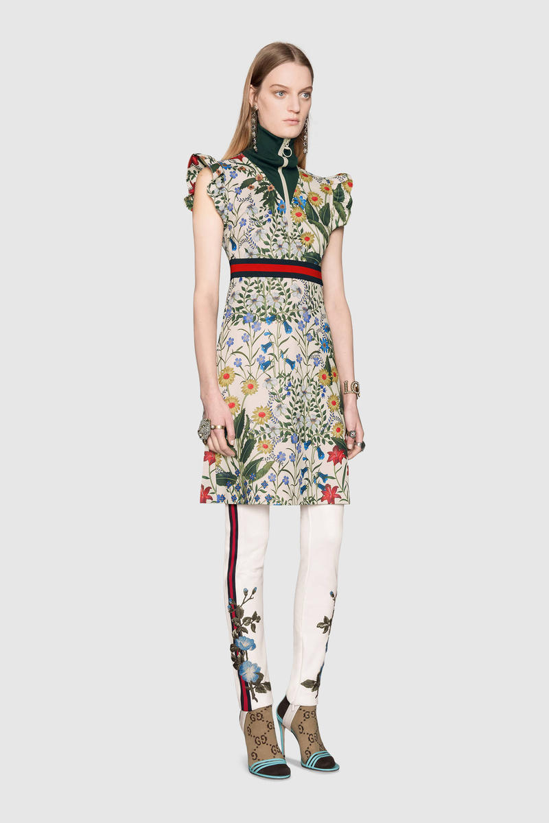 Gucci 2017 Pre-Fall Tracksuits Floral