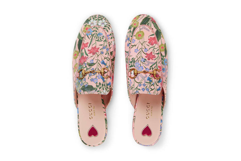 3fa3ee9674aa Gucci s Pink Floral Slippers Are Fancy Footwork