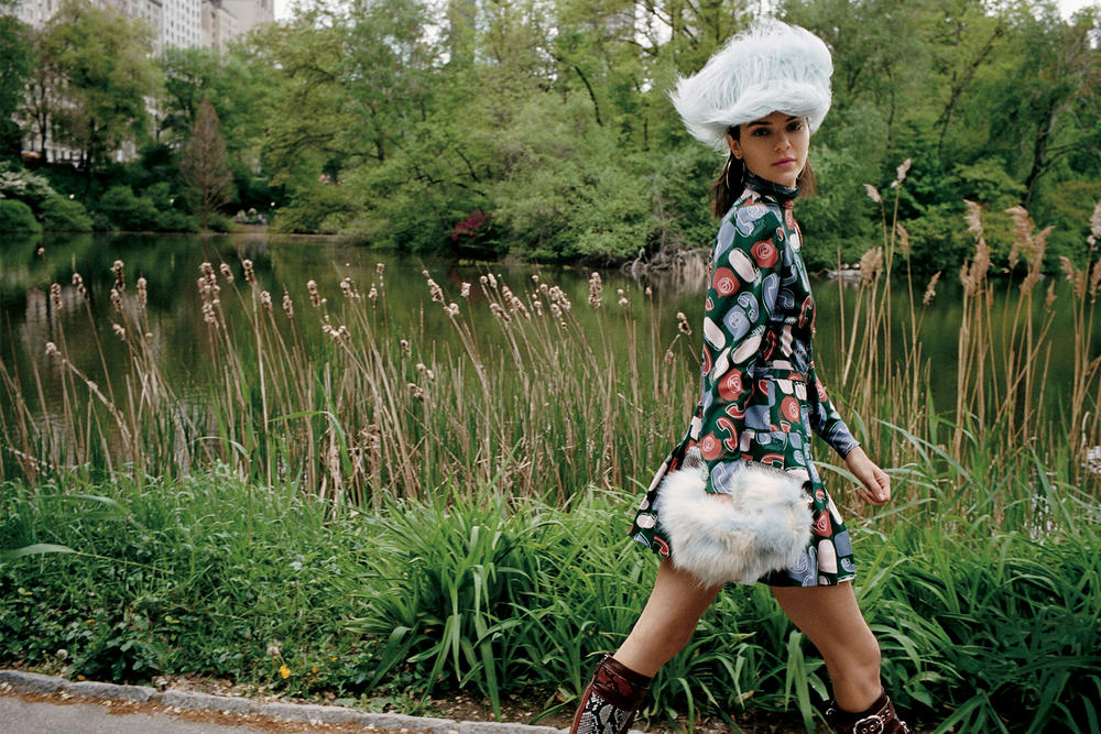 kendall jenner theo wenner vogue editorial fendi saint laurent central park nyc met museum