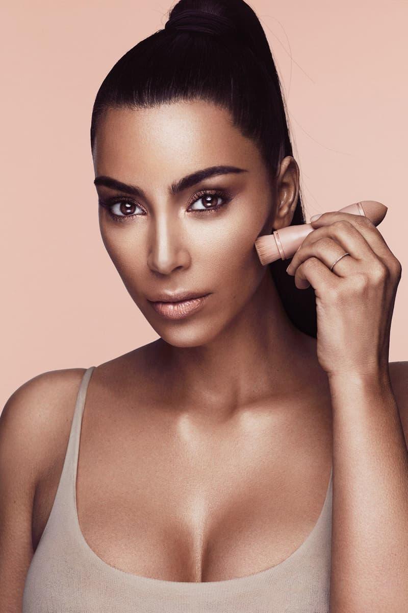 Kim Kardashian KKW Beauty Creme Contour Highlight Kit Behind the Scenes Video