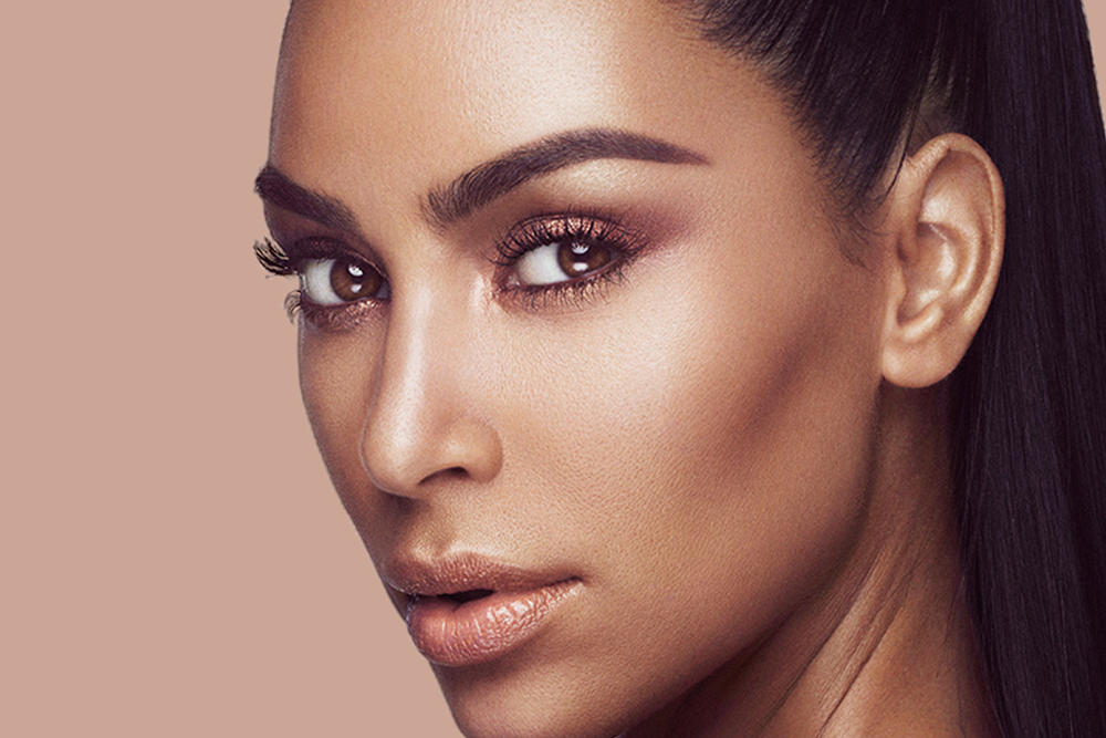 kim kardashian kkw beauty makeup line sold out contour highlight kit