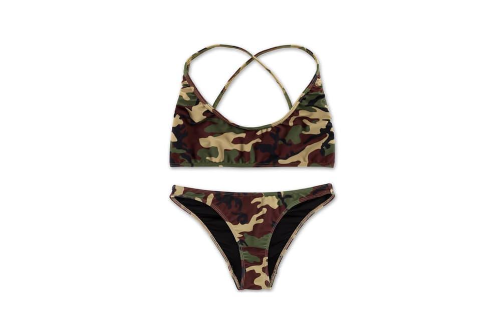 Kylie Jenner Camo Merch Collection Camokinis Bikinis Lighter
