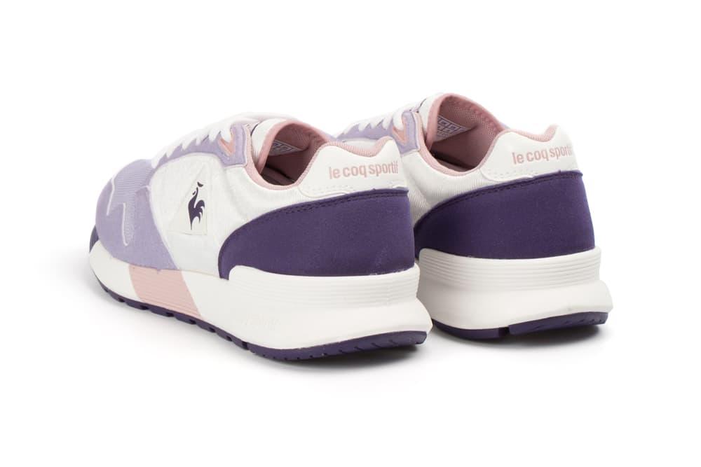 Le Coq Sportif pastel Omega Womens retro pale Pink Purple sneaker