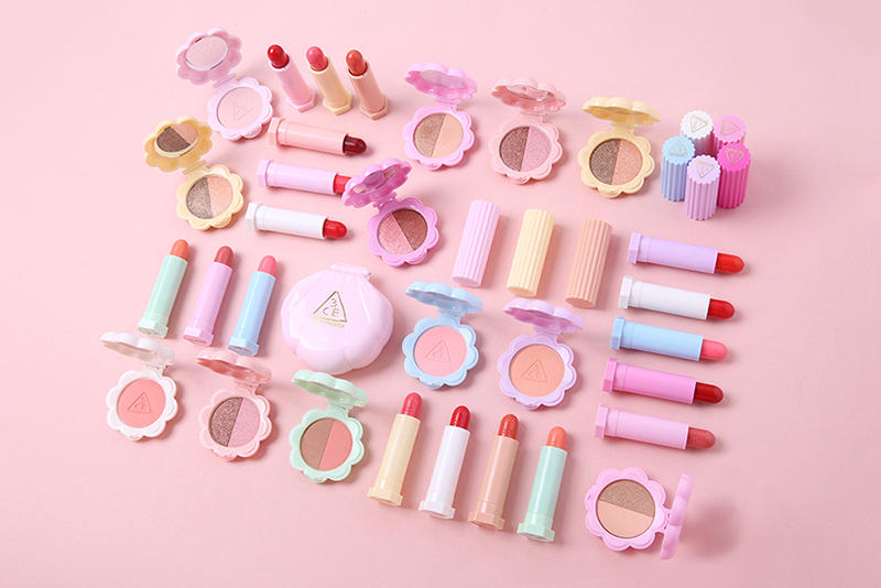 LOVE 3CE Pastel Makeup Collection Korean K-Beauty Lipstick Eyeshadow
