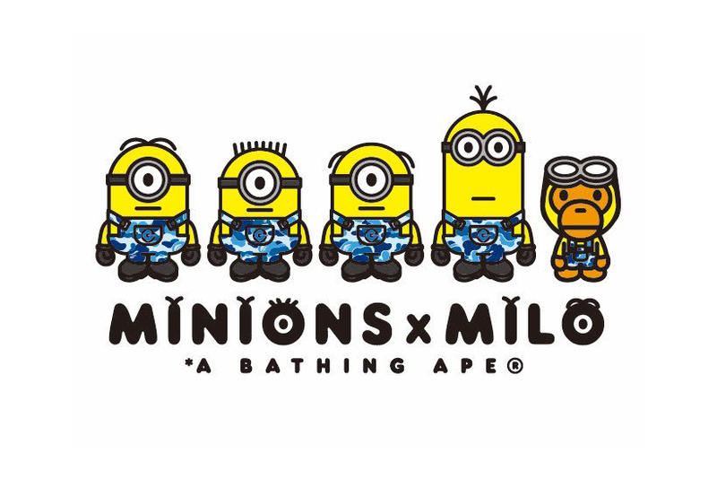 c3da9c78 Minions BAPE Baby Milo Collaboration A Bathing Ape Collection Despicable Me  3