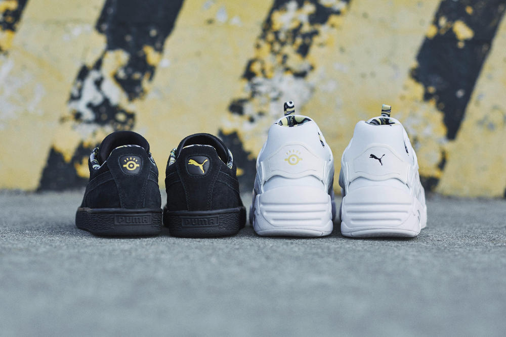 Despicable Me 3 PUMA Minion Collection Collaboration Lookbook Suede Classic