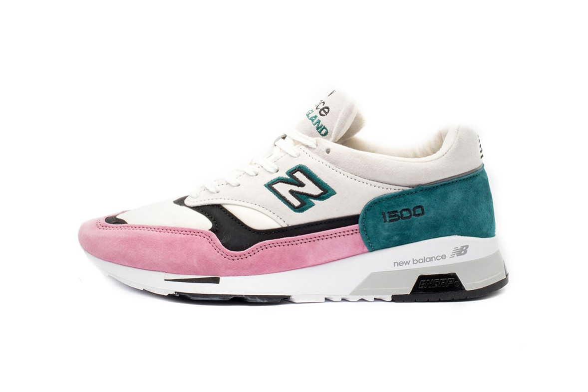 New Balance 1500s Outlined in Pink and