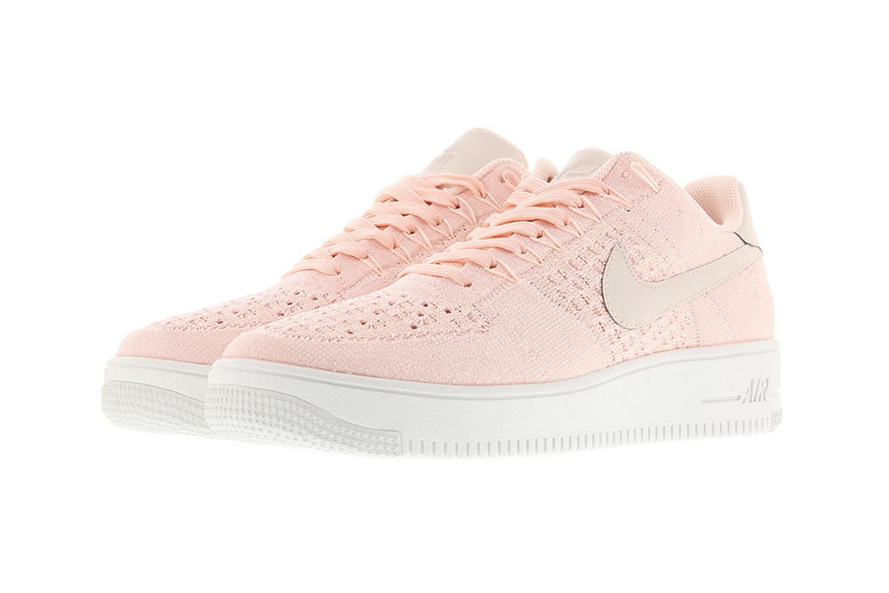 Nike Air Force 1 Ultra Flyknit Low Sunset Tint Pastel Pink