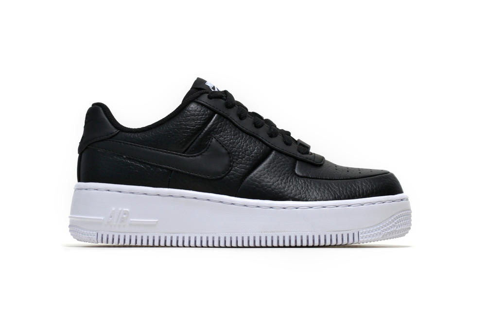 d570009c1e5 The Nike Air Force 1 Upstep in Black Is Luxe