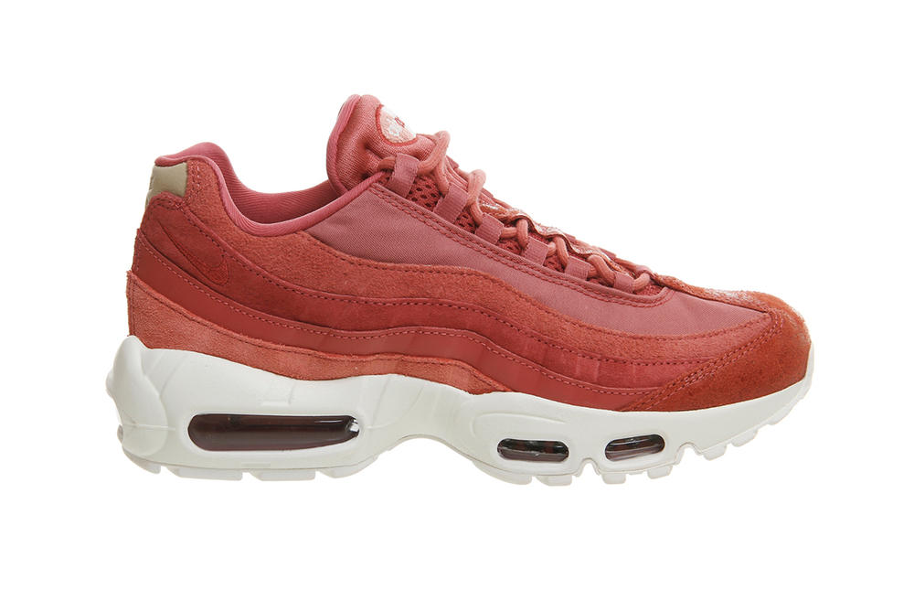 huge discount 6c3ea 29d10 Nike Air Max 95 Light Redwood Red Stardust Pink Coral