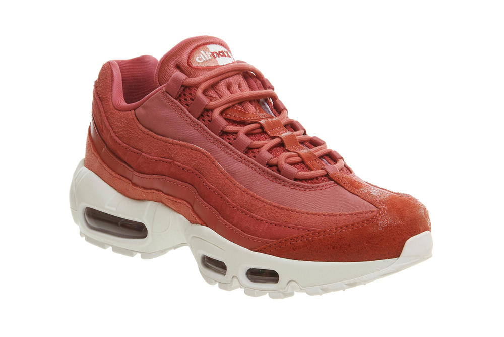 Nike Air Max 95 Light Redwood Red Stardust Pink Coral
