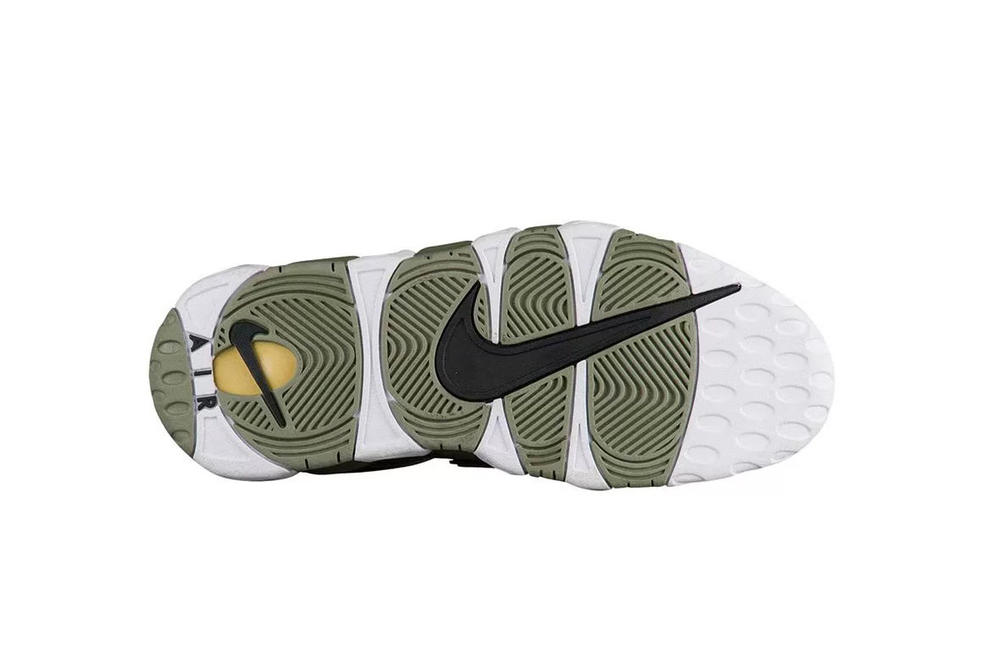 nike air more uptempo shine olympic scottie pippen basketball womens exclusive pearl olive