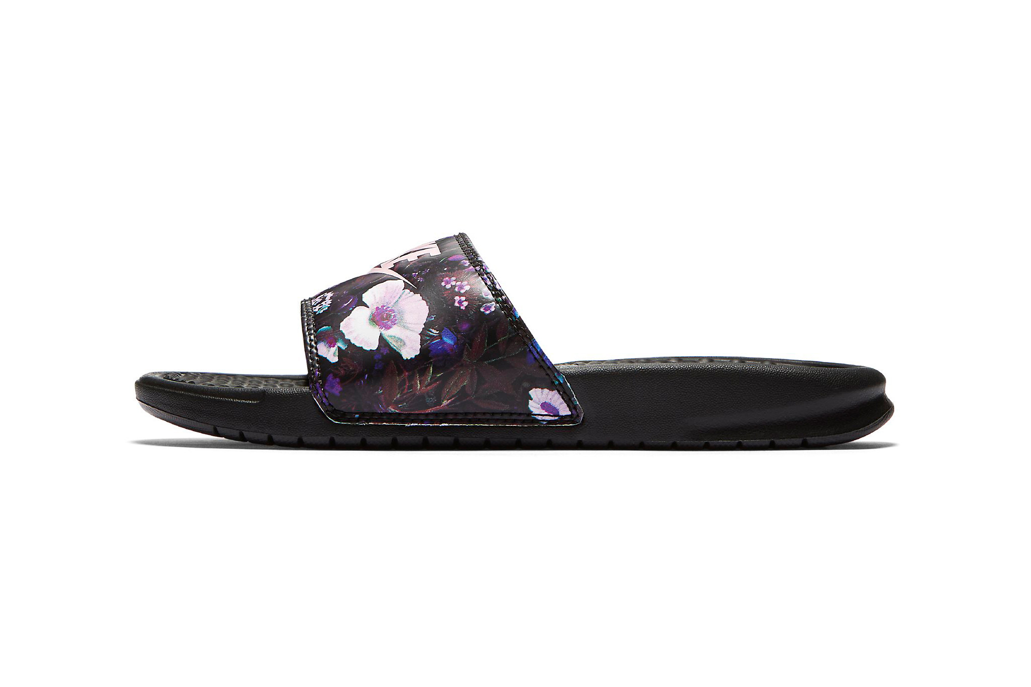 Benassi Slides Are Covered in Flowers
