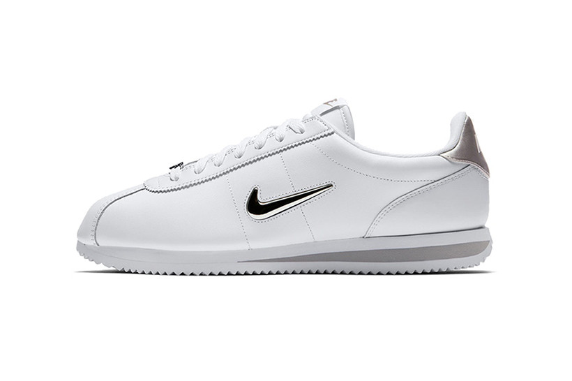 Nike Cortez Jewel in Black and White