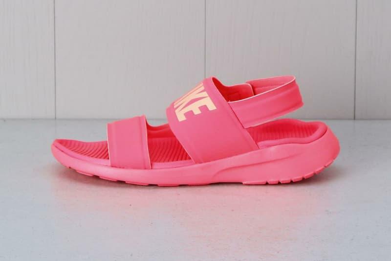 buy online 27e03 0f4b1 Nike Tanjun Sandal Pink Black