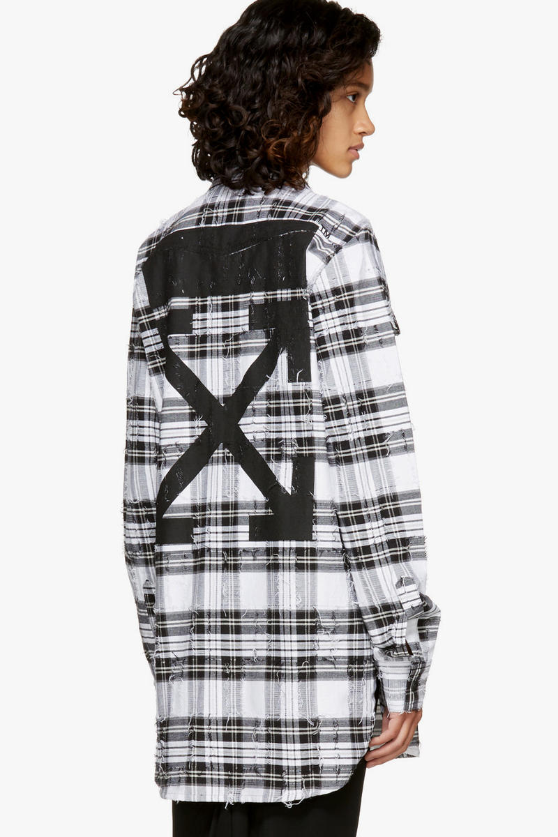Off-White Virgil Abloh Jeans Hoodie Jacket T-shirt SSENSE