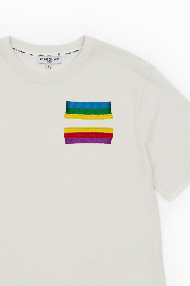 Opening Ceremony Pride Month T-Shirts Embroidery LGBT LGBTQ
