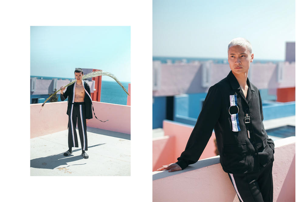 pieces uniques 2017 summer lookbook pastel spain travel