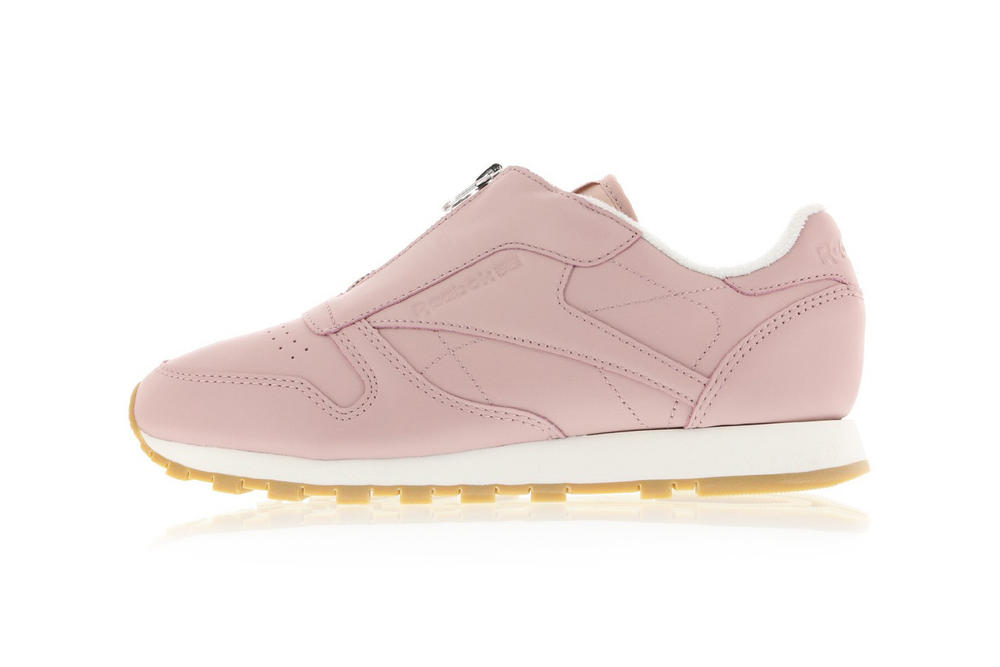 Reebok Classic Leather Zip Shell Pink