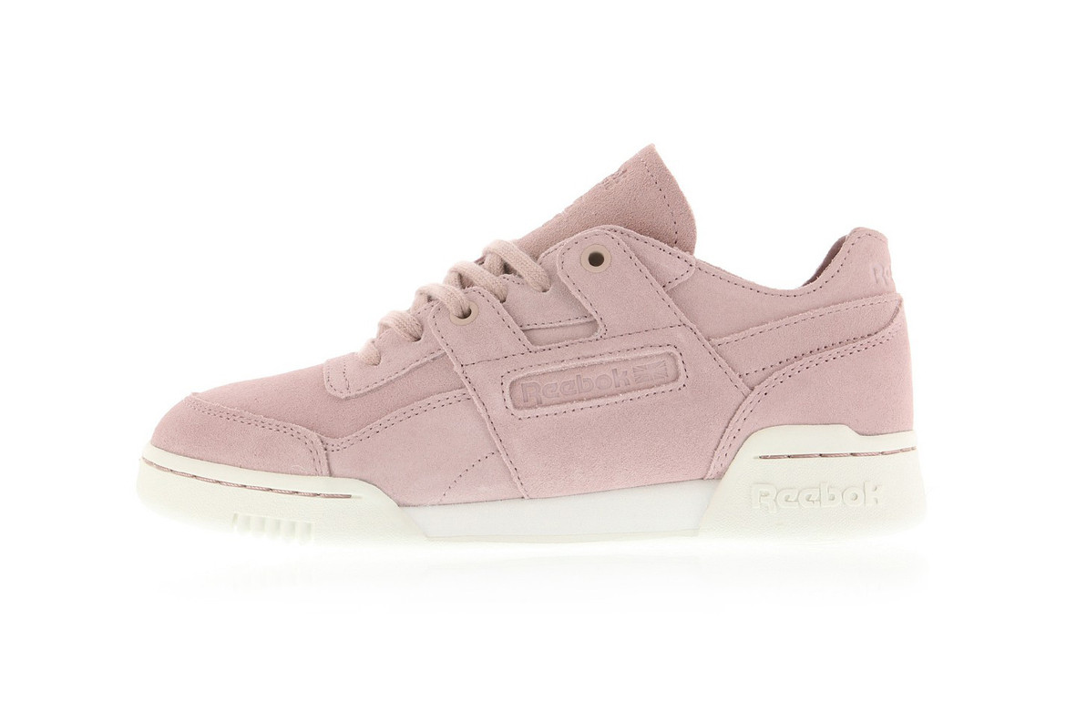 288b3eab Reebok's Workout Lo Plus FBT in Sandy Rose | HYPEBAE