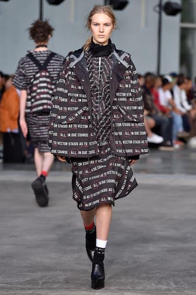 sacai chitose abe 2018 pre spring collection runway paris fashion week mens