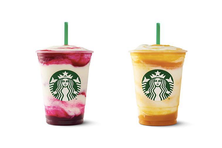 Starbucks frappuccino berry prickly pear mango pineapple 2017 summer drink instagram