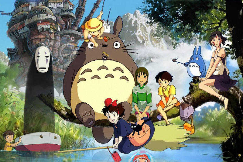 studio ghibli my neighbour totoro park ghibli japan