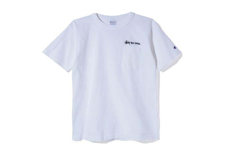 stussy japan champion tshirts tees tokyo osaka