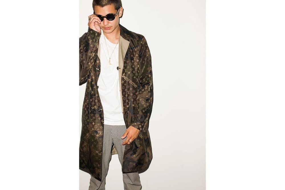 Supreme x Louis Vuitton Lookbook Terry Richardson