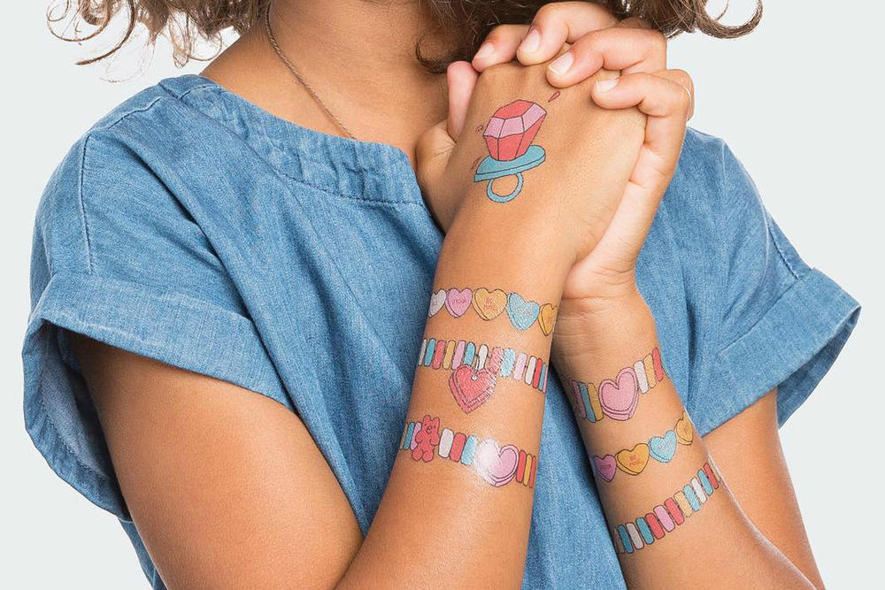 Tattly Scented Temporary Tattoo
