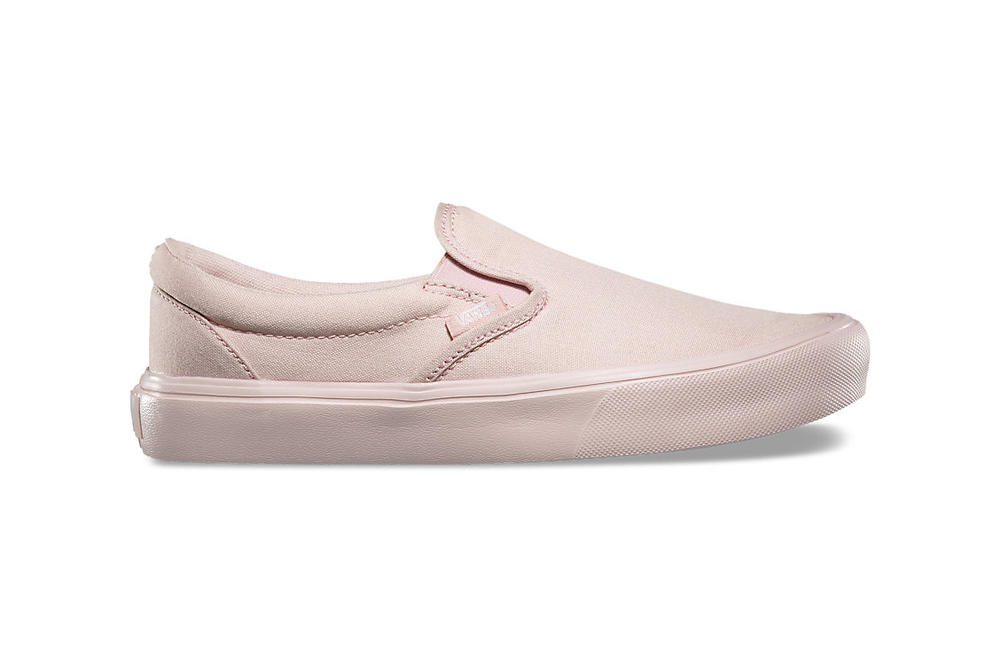 2cbd66dc0477 Vans Slip-On Lite Is a Pink Beaut in Sepia Rose