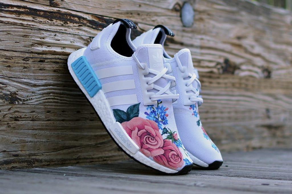 adidas NMD R1 Gets a Flowery Custom