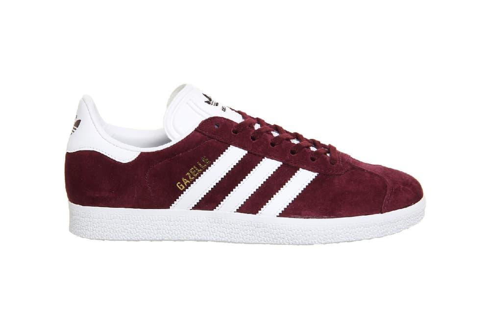 adidas Originals Gazelle Burgundy Dark Red Sneaker