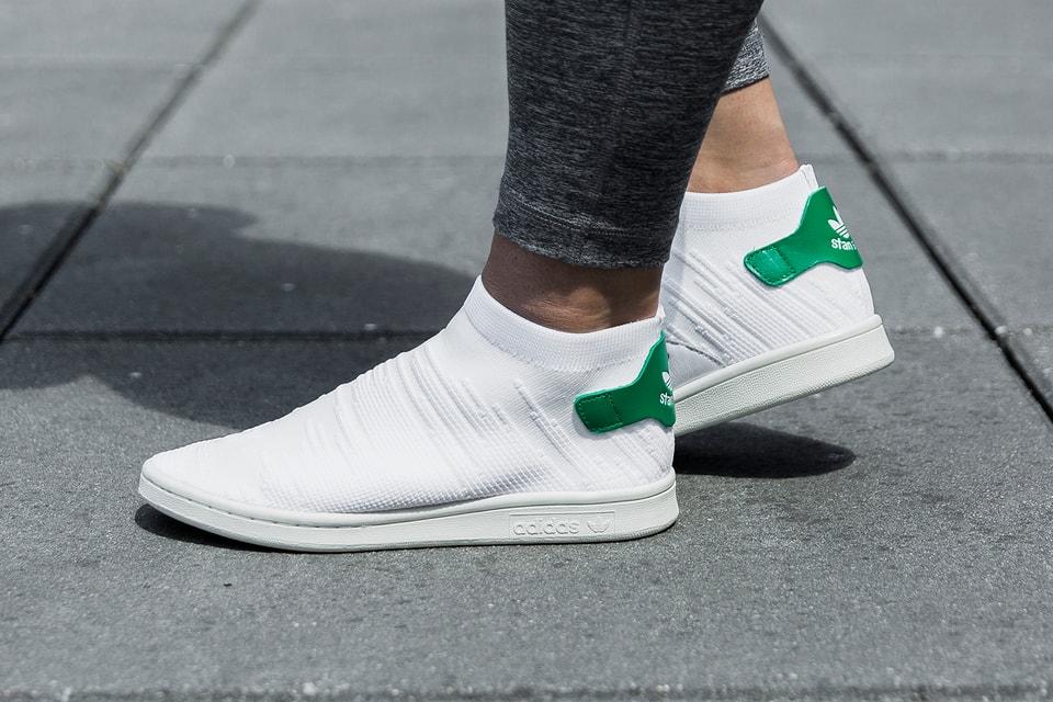 free shipping 86b4f 4dad6 adidas Originals White Stan Smith Sock Primeknit | HYPEBAE