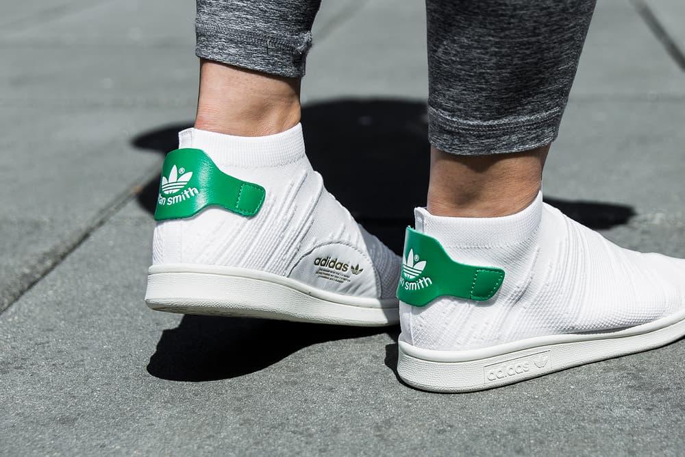 free shipping f5dd1 f0d48 adidas Originals White Stan Smith Sock Primeknit | HYPEBAE