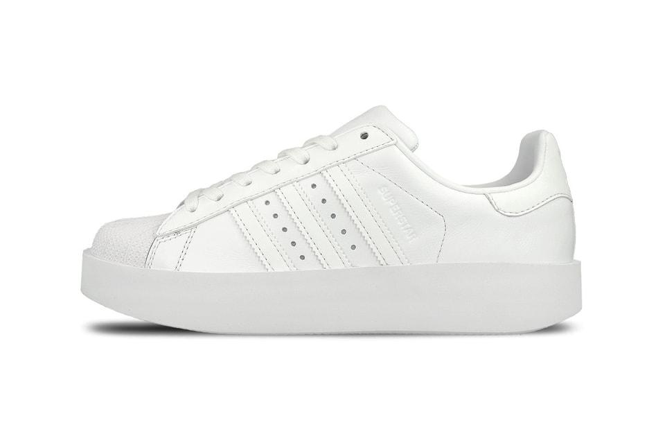 wyprzedaż resztek magazynowych klasyczny styl popularna marka adidas Originals Superstar Bold Is Clean in White | HYPEBAE