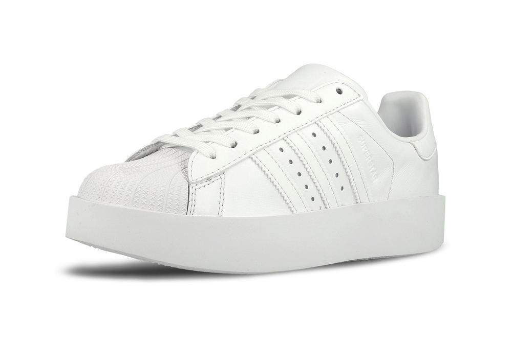 adidas Originals Superstar Bold White Linen Green