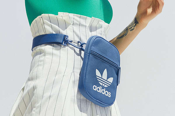 adidas Originals Trefoil Festival Crossbody Bag  b0e1df64fd124