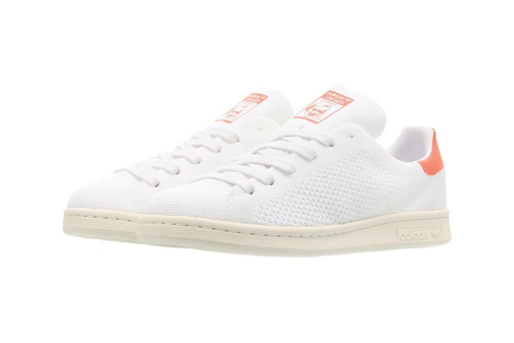 adidas Originals Stan Smith Primeknit Semi Flash Orange