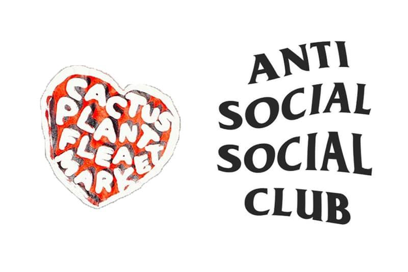 Anti Social Social Club Cactus Plant Flea Market Collaboration 2017 Neek Lurk Pharrell Williams Teaser