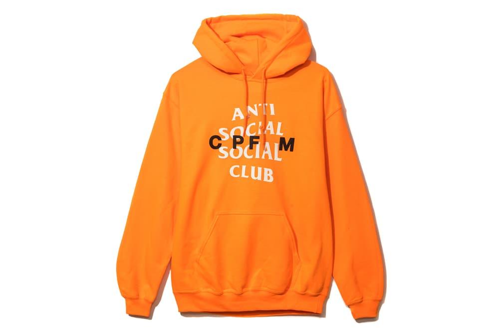 81e2ab85ae32 Anti Social Social Club Cactus Plant Flea Market Hoodie Cap Orange Green  Neek Lurk Pharrell Williams