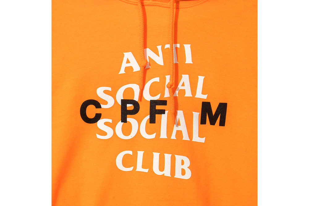 Anti Social Social Club Cactus Plant Flea Market Hoodie Cap Orange Green Neek Lurk Pharrell Williams