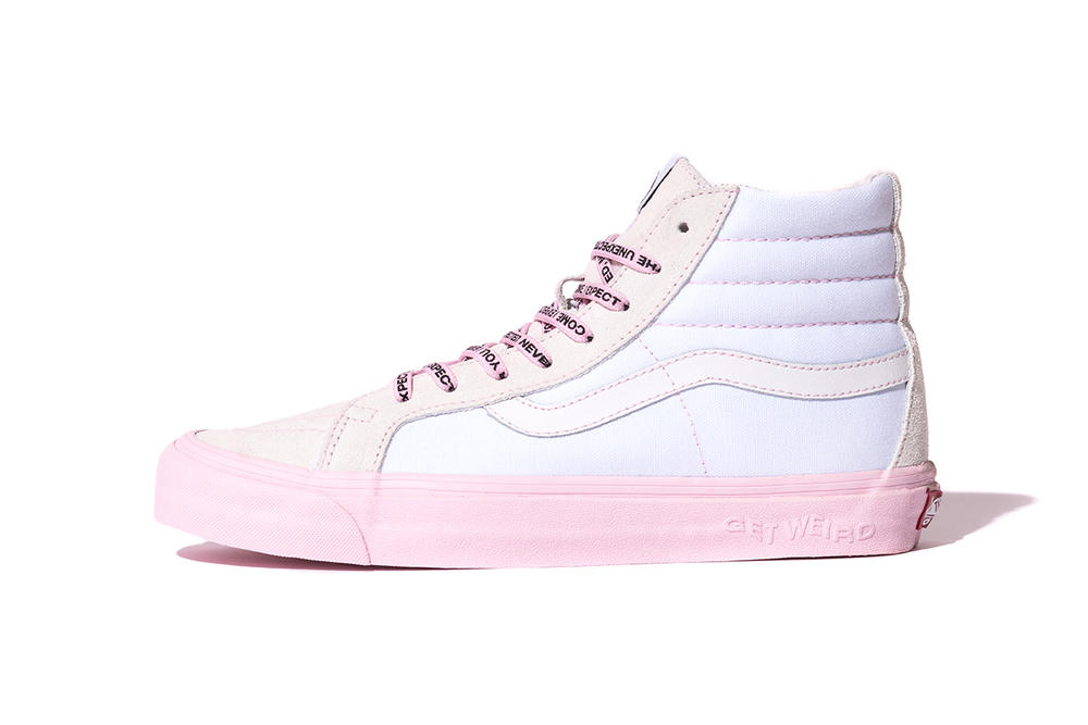 anti social social club vans sk8-hi authentic reverse colorway