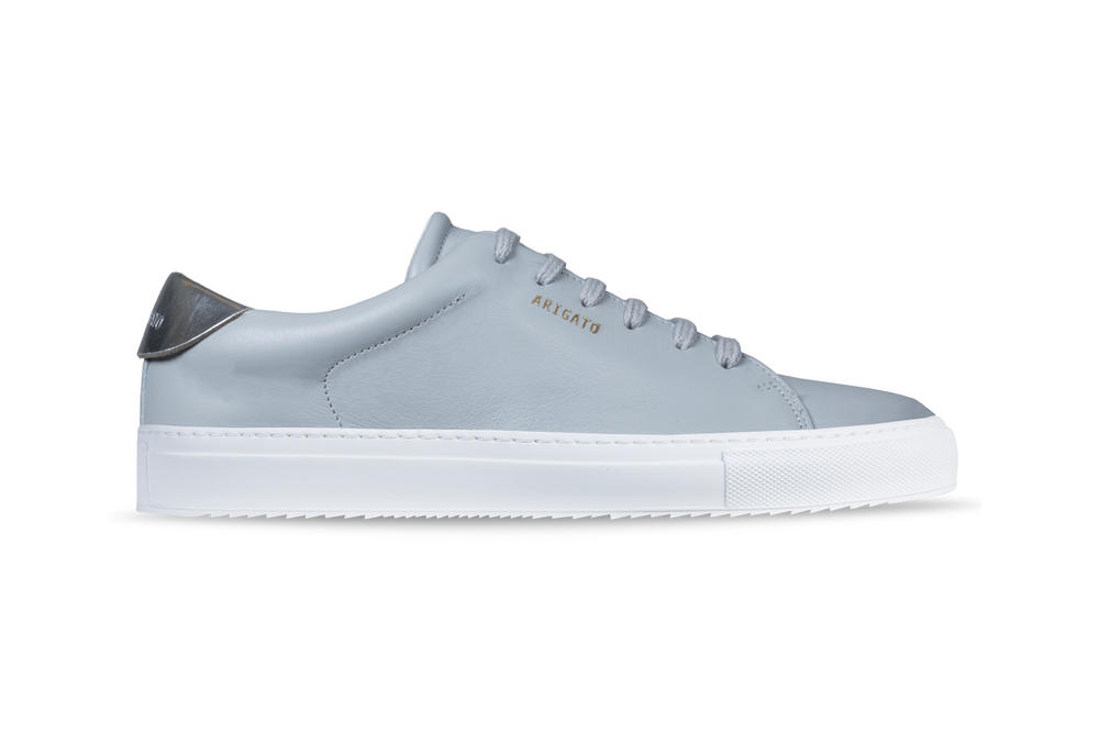 Axel Arigato Tennis Sneaker Leather Nude Grey