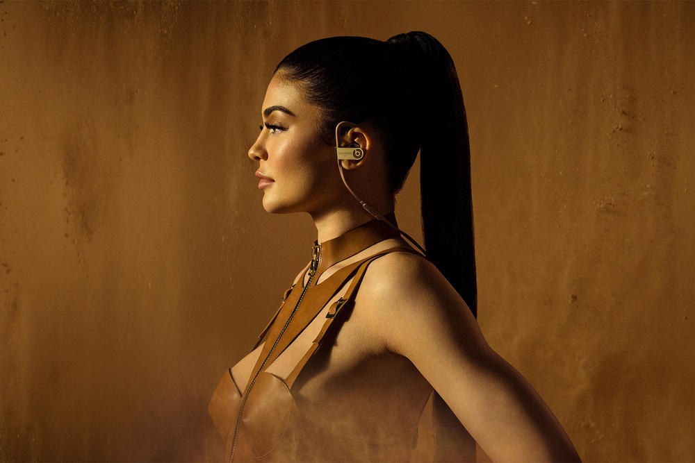 Kylie Jenner Olivier Rousteing Balmain Beats By Dre Headphone collection collaboration