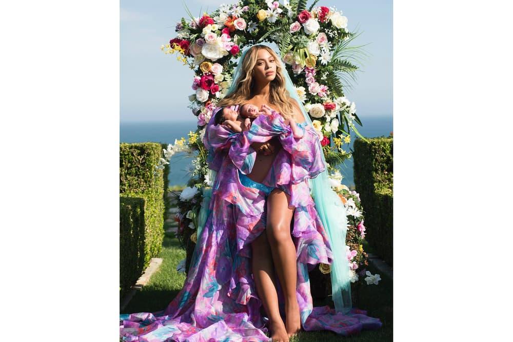 Beyonce Sir Rumi Carter Twins Photo